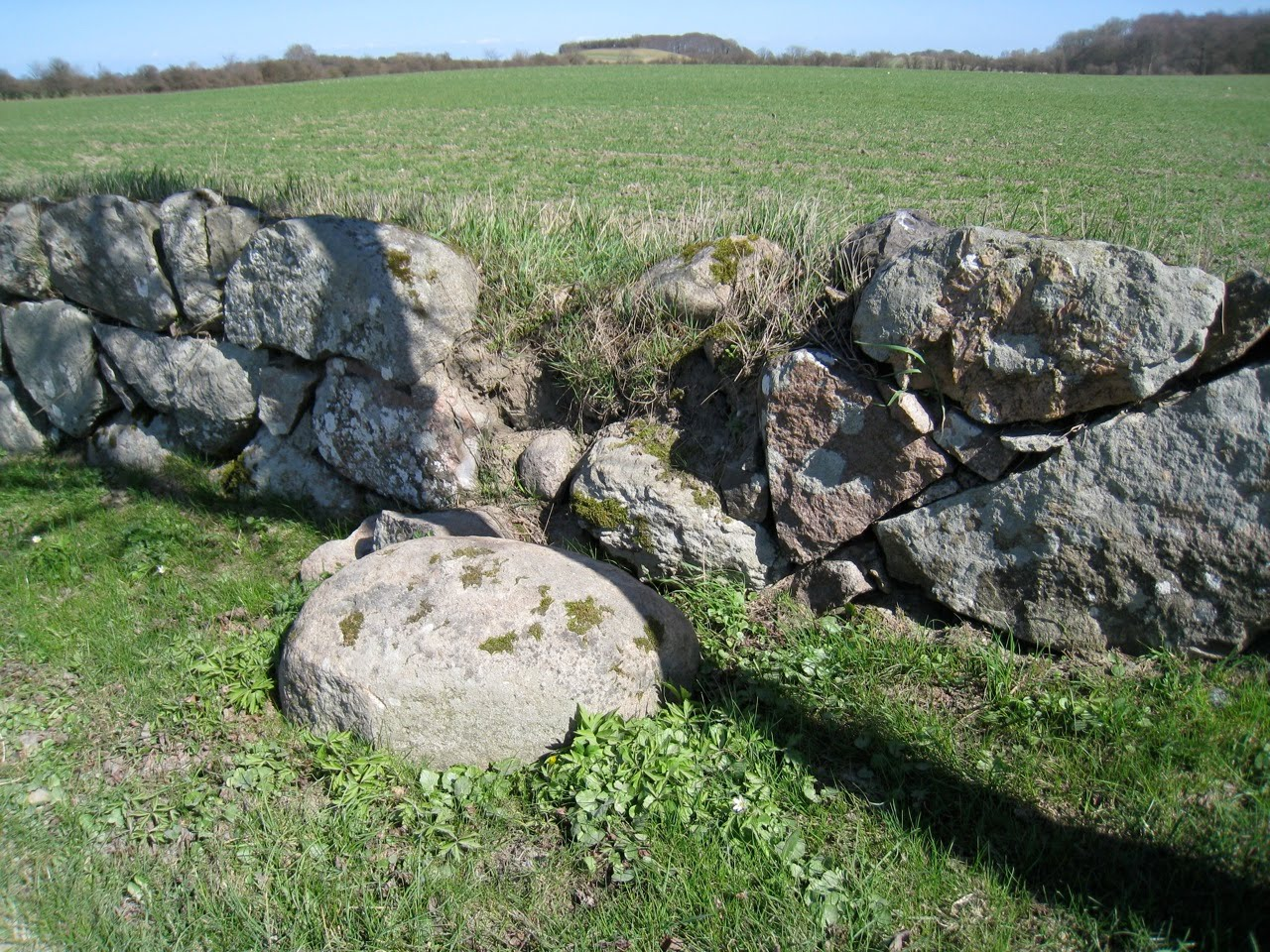 Skovsgaard split boulder wall in the company of stone for Split wall