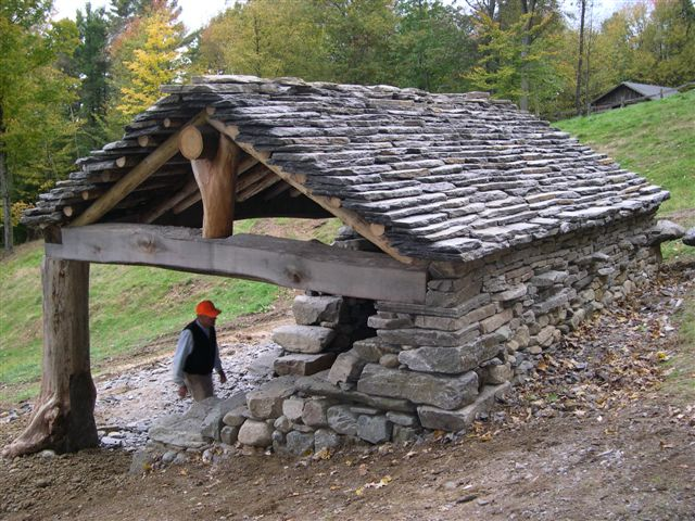 How to build a shed into a hillside Info | Guide Source
