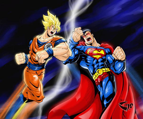 goku ssj3 vs superman - photo #19