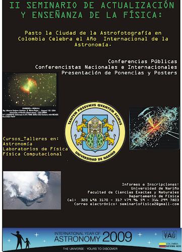 II SEMINARIO DE ACTUALIZACION Y ENSEÑANZA DE LA FISICA