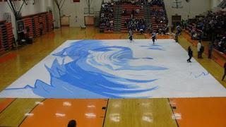 New tarps world best color guard floor tarp winter for Winterguard floors