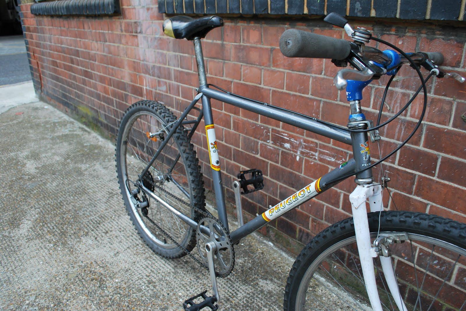squeaky chains: ebay saleretro peugeot mountain / road bike