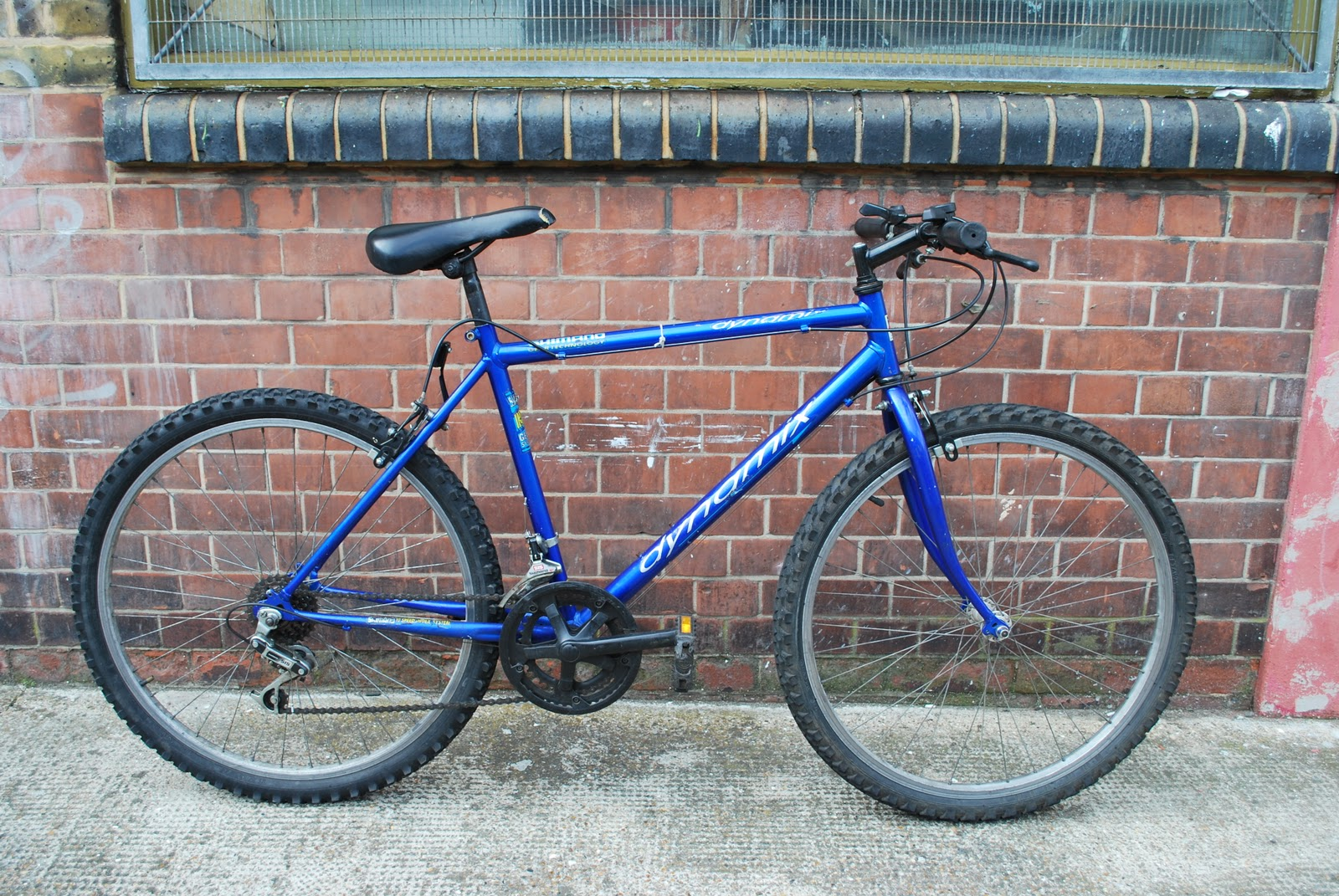 Squeaky Chains Ebay Sale Blue Shimano Dynamix Mountain Bike Sold