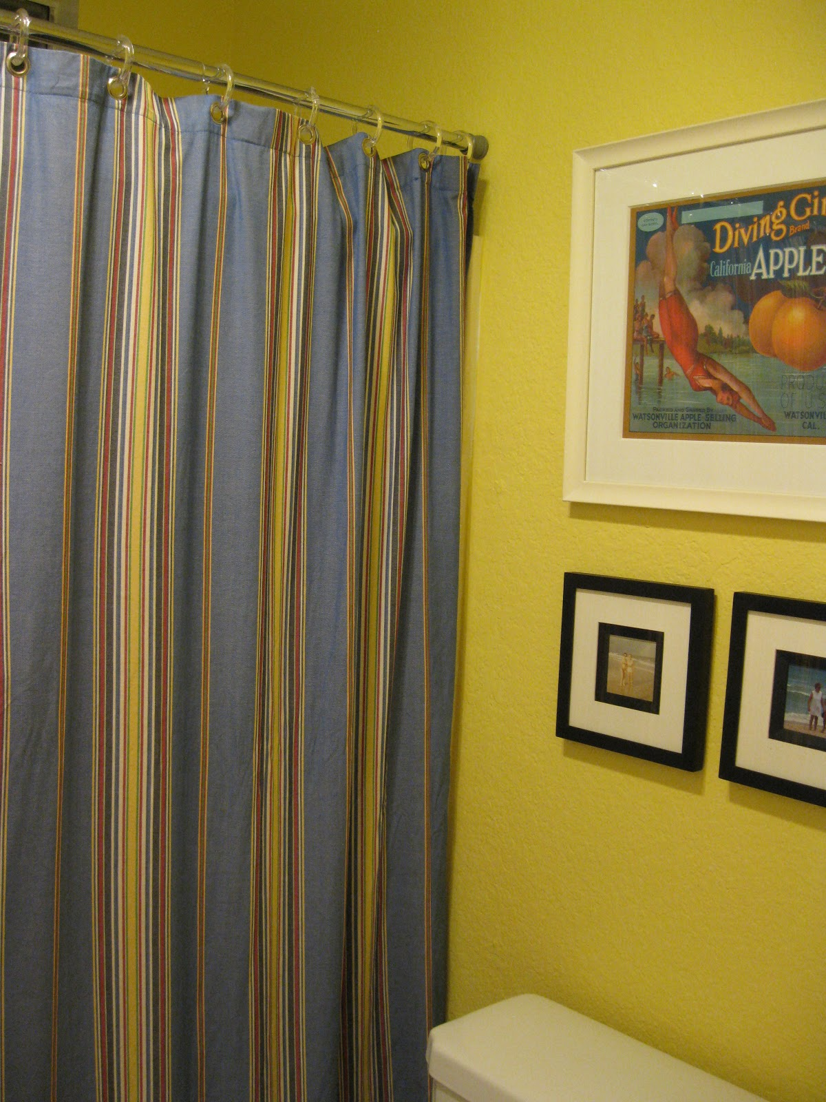 Out Of The Crayon Box Beachy Yellow Bathroom Reveal