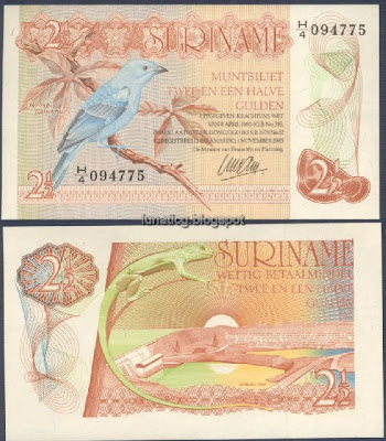 suriname old note