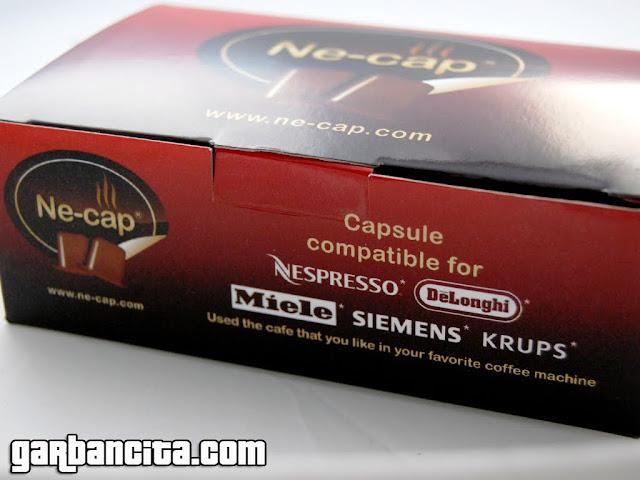 Ne-cap cápsulas rellenables para la Nespresso