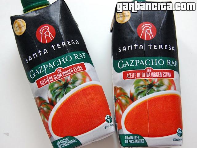 Gazpacho Raf de Yemas de Santa Teresa