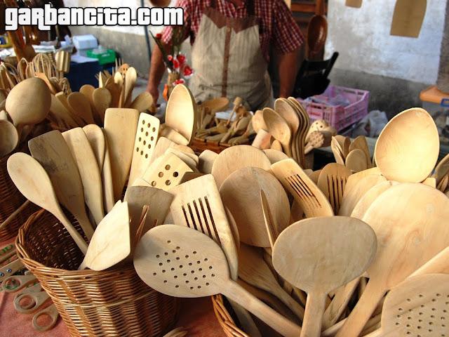 Utensilios de cocina hechos a mano