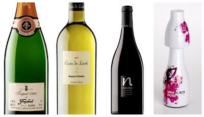 Los vinos y cavas del grupo Freixenet que pudimos disfrutar en la gastroquedada