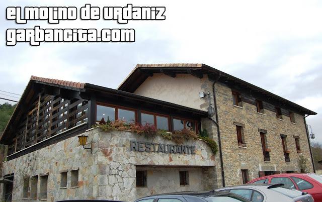 Restaurante El Molino de Urdániz - Fachada