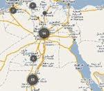 خريطة العنف الطائفي في مصر