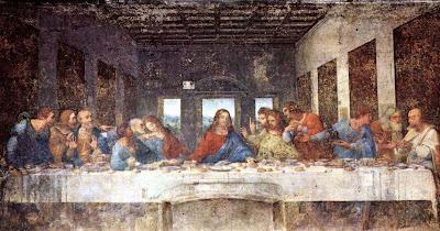Artwork Today: The Last Supper by Leonardo DaVinci Da Vinci Paintings Hidden Messages
