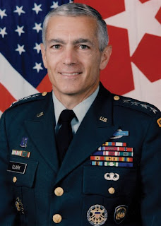 The moderately heroic Wesley Clark