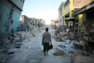 Port Au Prince after the earthquake