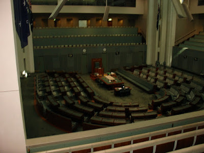 house of representatives in parliament house