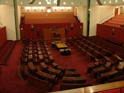 senate in parliament house