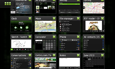 Multi-tasking on Nokia N900