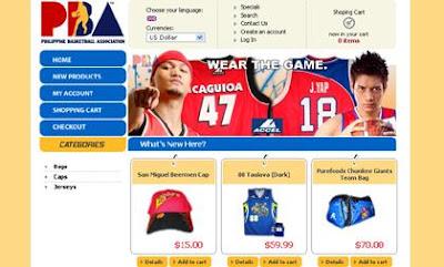 PBA Online Store