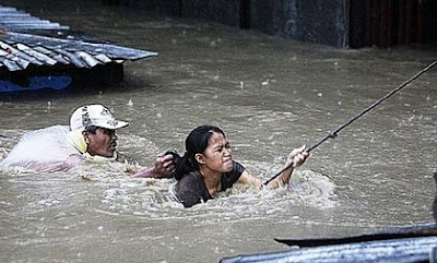 Rescued Woman
