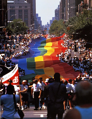 The 24th annual Gay Pride March in New York, June 26, 1994