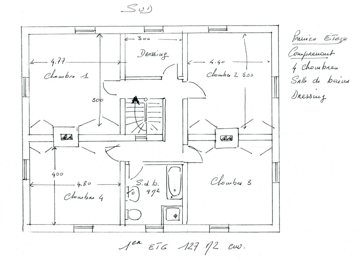 Pz C Plan Maison