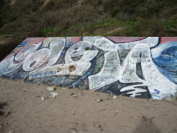 Goleta Beach Graffiti