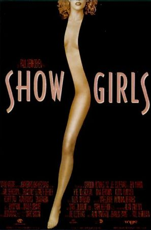 Poster Of Showgirls (1995) In Hindi English Dual Audio 100MB Compressed Small Size Mobile Movie Free Download Only