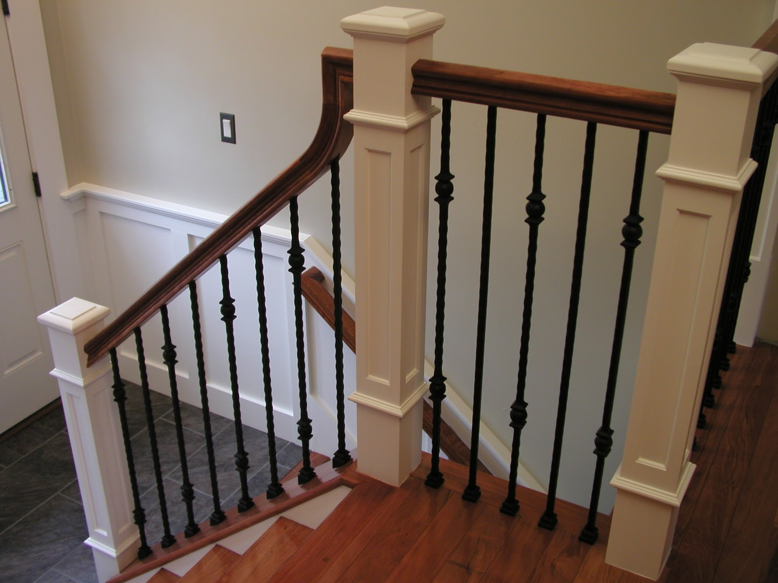 1000 Images About Stairway On Pinterest Craftsman Iron