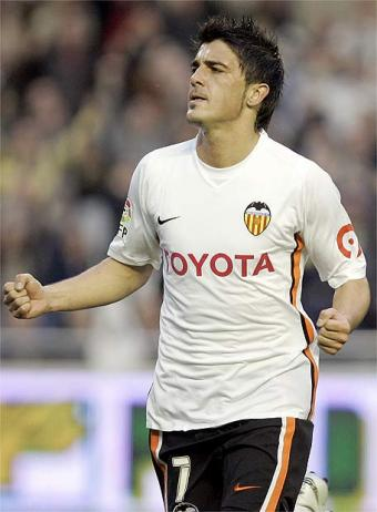 david villa hairstyle. David Villa is a Spanish