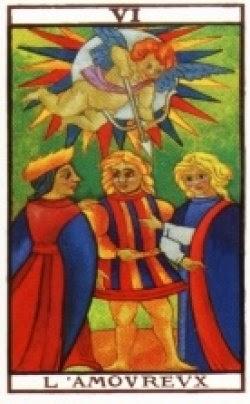 El tarot de anastrela arcanos mayores el enamorado el espejo de eros - El espejo tarot gratis ...