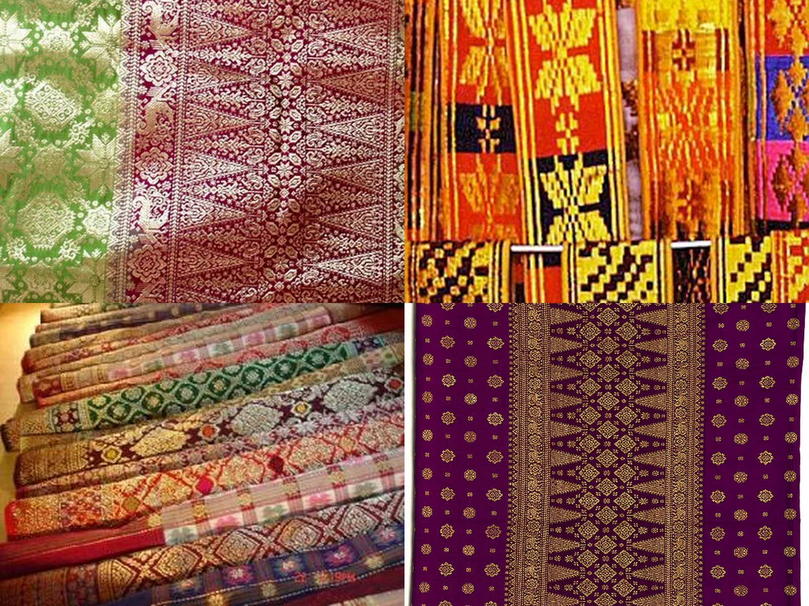 "Songket , means ""to hook"", a fabric that belongs to the brocade ..."
