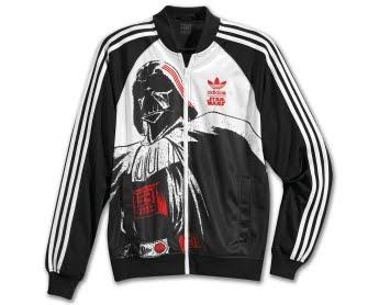 Casaco Star Wars e Adidas
