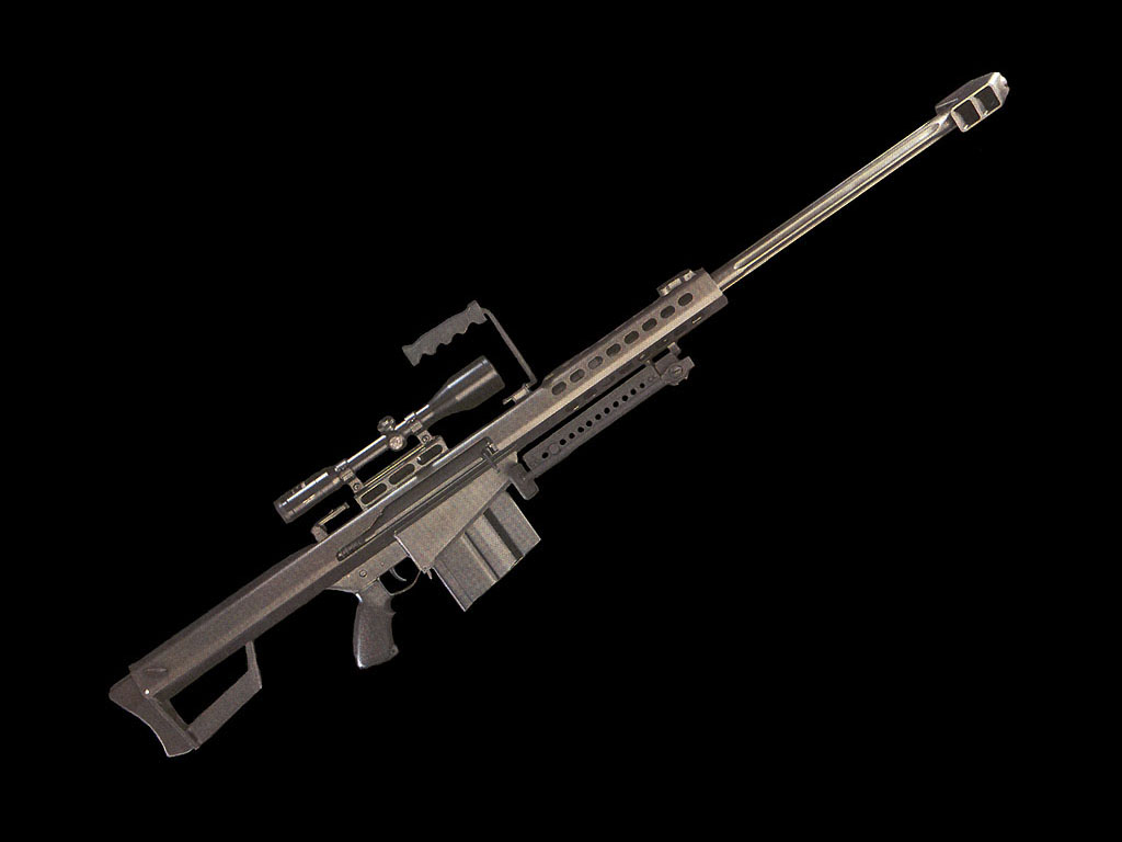 50 Cal Sniper Rifle Wallpaper