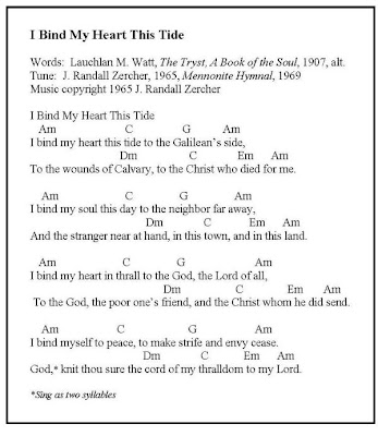 Saints And Spinners Song Of The Week I Bind My Heart This Tide