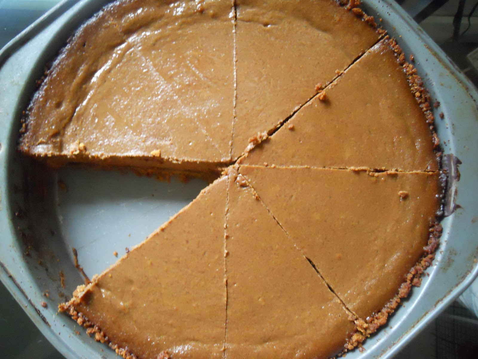 Jesse's Kitchen: Triple Chocolate Pumpkin Pie