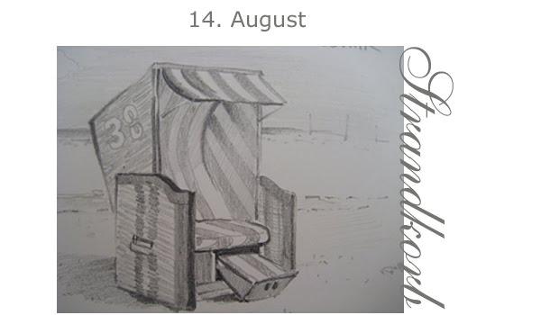 Strandkorb gezeichnet  Strandkorb Gemalt | tentfox.com