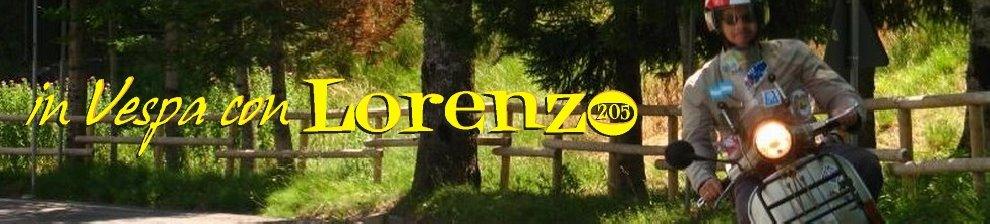 """in Vespa con """"Lorenzo205"""""""