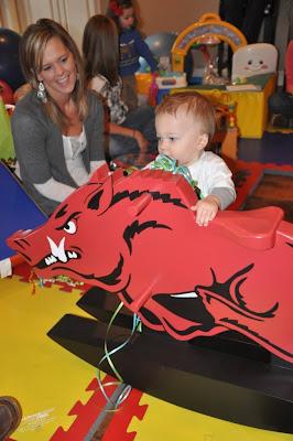 Razorback Rocking Horse