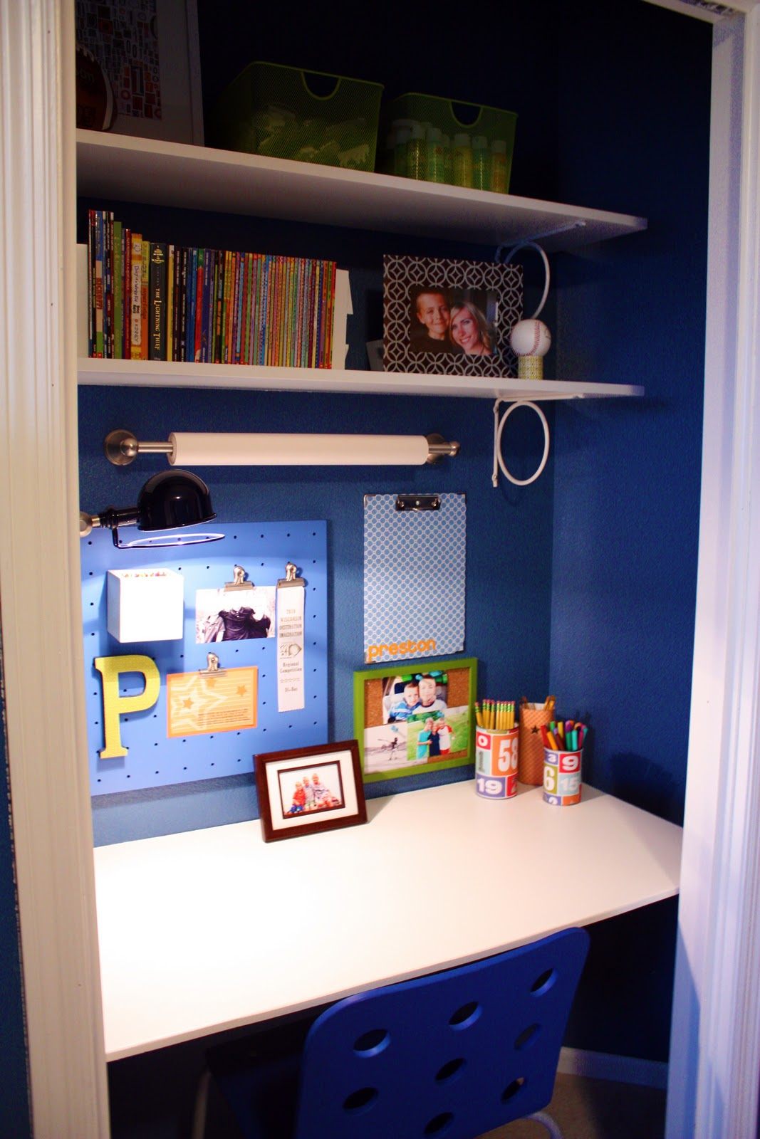 & IHeart Organizing: Closet Case: The Ultimate Kid\u0027s Study Zone!