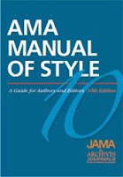 Cool tools from the online AMA style manual