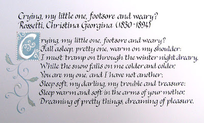 "christina rossetti 2 essay Therefore, it is the purpose of this essay to analyze rossetti's gothic poetry and   for her hesitation is found in the line ""thro' april far in may"" (29:2) indicating."