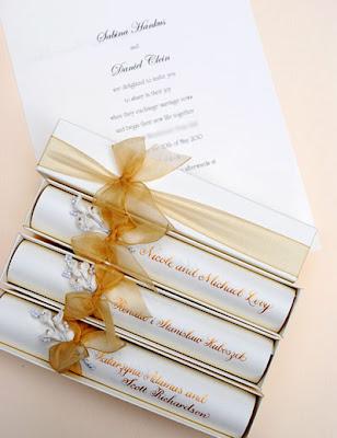 Gold Wedding Scroll Invitations The Wedding Calligrapher