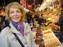 in Barcelona, la piata Boqueria