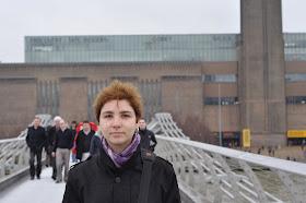 la muzeu Tate Modern, Londra