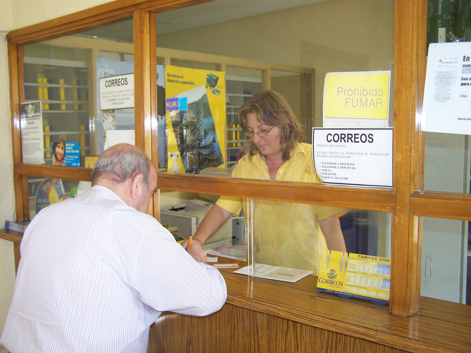 Oficina correos pedro abad for Oficina correos mostoles