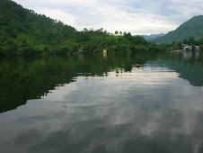 Naukuchiatal Lake from a Boat