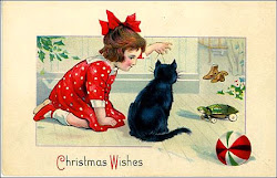 Merry Vintage Christmas from Black Cat Cottage