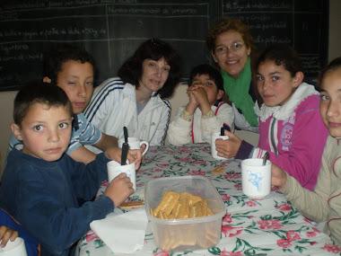 Desayuno Agrupamiento Escuelas 19, 25 y 27