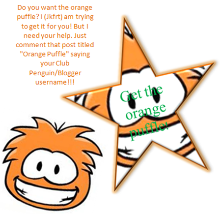 Orange Puffle!!!