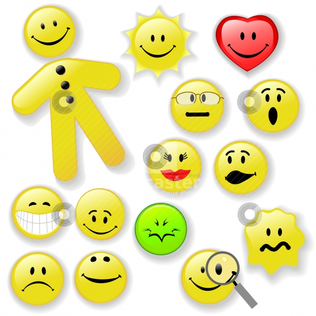 cartoon happy face pictures. Smiley Faces Animated.